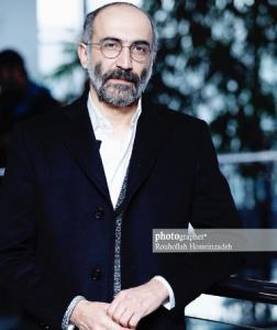 هادی حجازی فر و نیکی کریمی در اکران مردمی فیلم «آتابای»