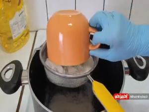 آموزش پخت حلوای شیره خرما