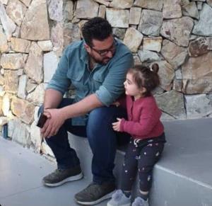 چهره ها/ گپ و گفت پدر و دختری محسن کیایی