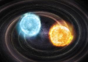 کشف دو ستاره کوتوله سفید که چشمه امواج گرانشی هستند