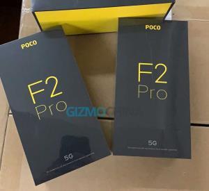 جعبه گوشی پوکو F2 چه شکلی است؟