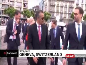 گردش آب در آبنمای شهر ژنو پس از ۸۳ روز از سر گرفته شد
