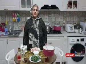 طرز تهیه کته سبزی پلو با ته انداز بال و کتف