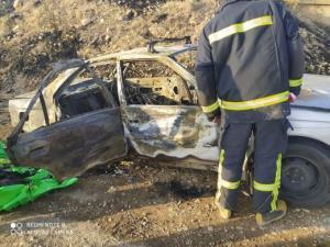 جسد سوخته راننده تاکسی بیسم یاسوجی در دشت ارژن کشف شد