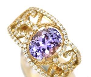 مدل های زیبای انگشتر طلا و الماس