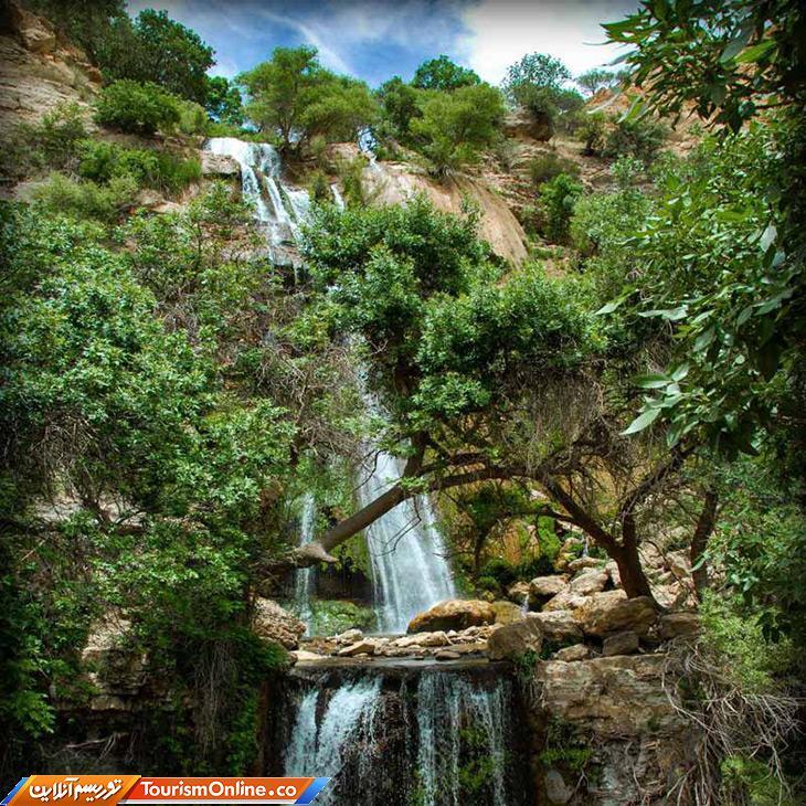 تنگ تامرادی یاسوج؛ سرزمین آبشارهای شگفت انگیز