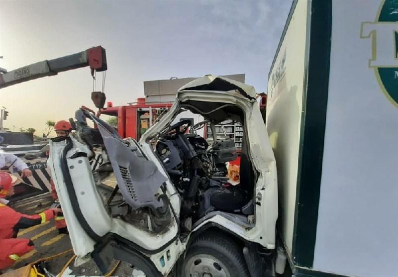 تصادف خونين؛ تريلي 13 نفر را به کام مرگ بُرد