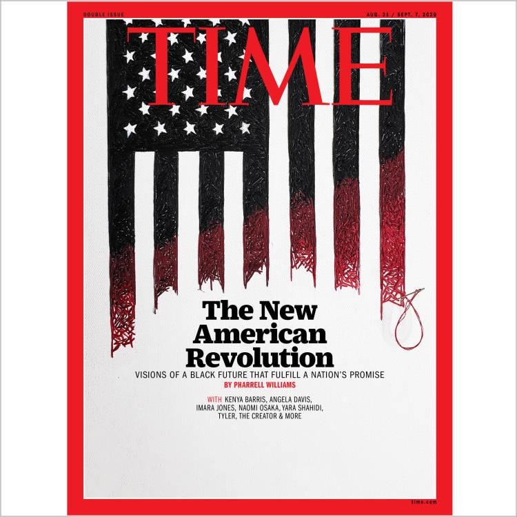 صفحه اول مجله تايم/ انقلاب آمريکايي جديد