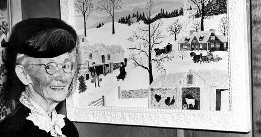 مادربزرگی که در 70 سالگی نقاشِ معروفی شد