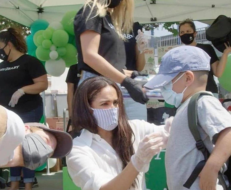 چهره ها/ کمکرسانی مگان مارکل و پرنس هری برای خیریهای در لسآنجلس