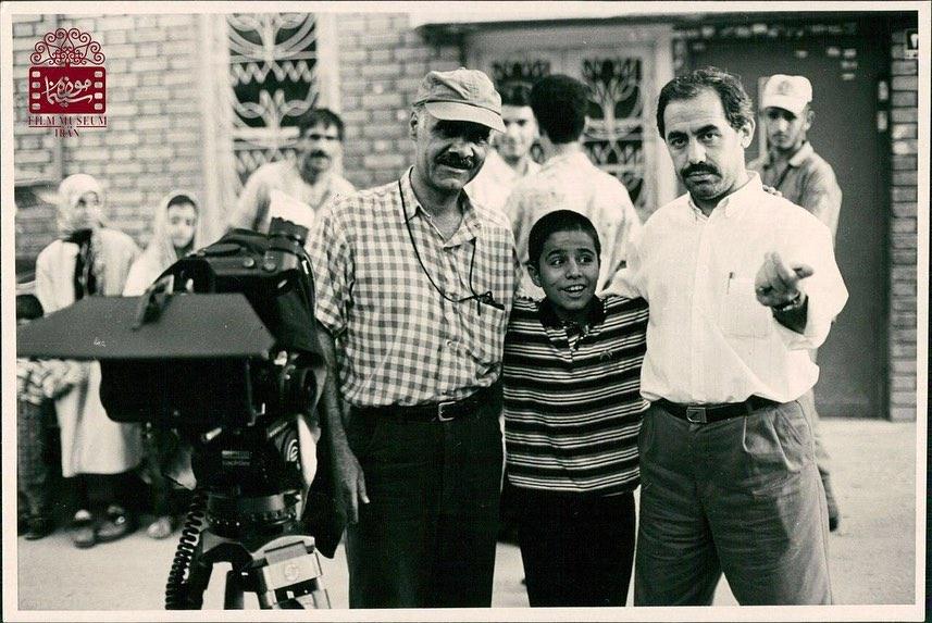 چهره ها/ عکس کودکي حسين سليماني در پشت صحنه «مهر مادري»