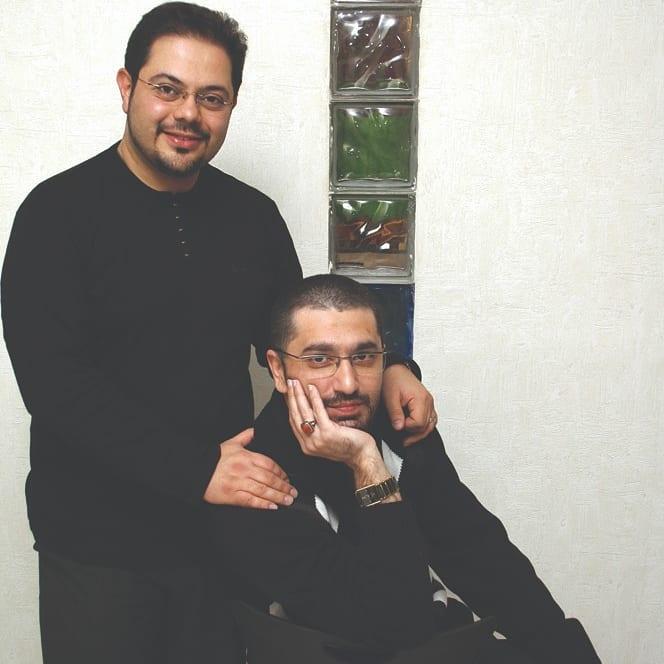 چهره ها/ عکس 15 سال قبل دو مجری تلویزیون