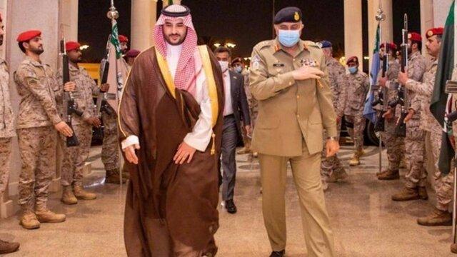 جواب رد بن سلمان براي ديدار با رئيس ستاد مشترک ارتش پاکستان
