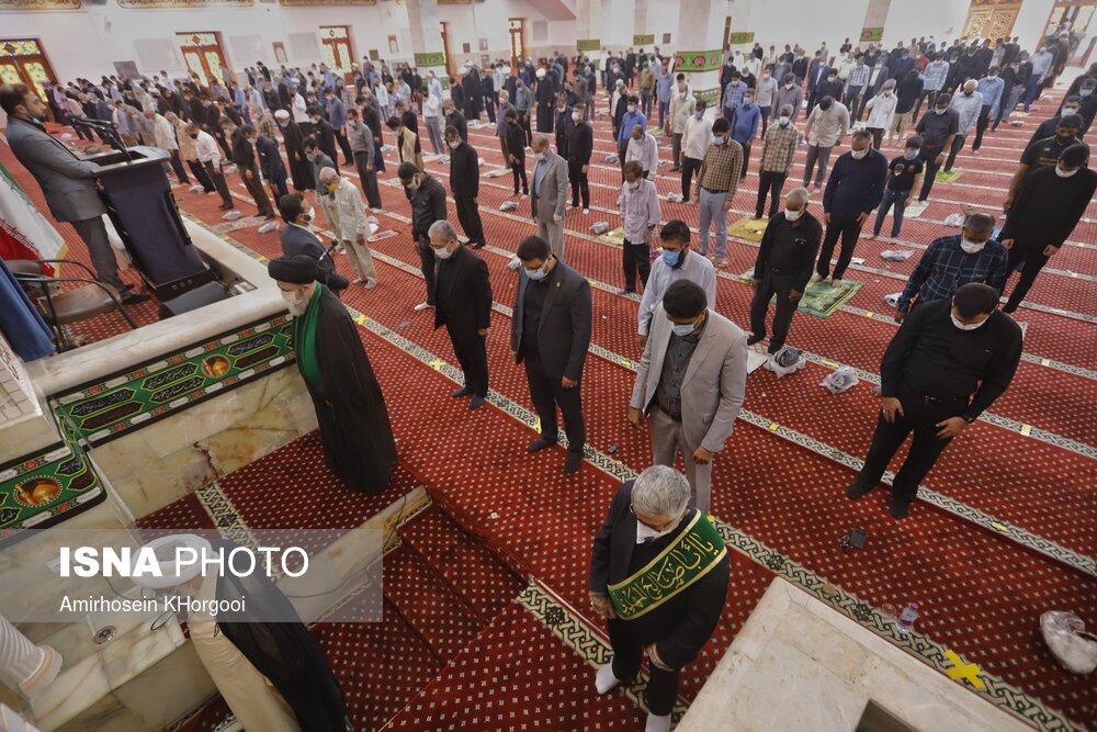 اقامه نماز جمعه بندرعباس پس از شش ماه
