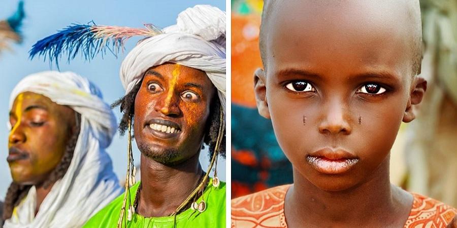 قبيله آفريقايي که خود را زيباترين مردمان دنيا مي دانند