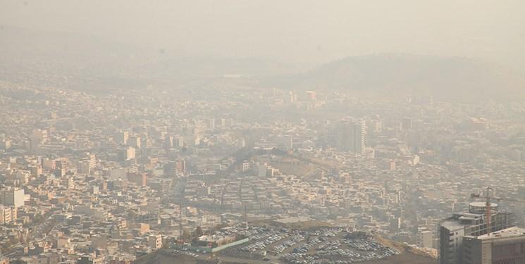 آلودگی هوای تهران در مرداد امسال ۱۱ روز بالاتر از حد مجاز