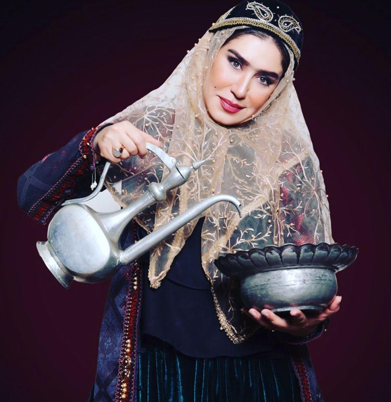 چهره ها/ نسيم ادبي با شکل و شمايل زن قجري