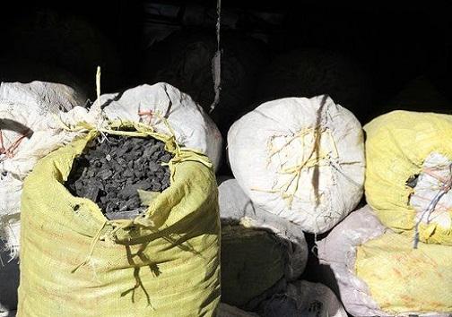 کشف و ضبط بيش از يک تن زغال قاچاق در ديشموک