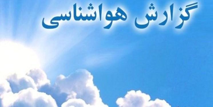هشدار سطح زرد هواشناسي نسبت به رگبار و رعد و برق در استان کرمان