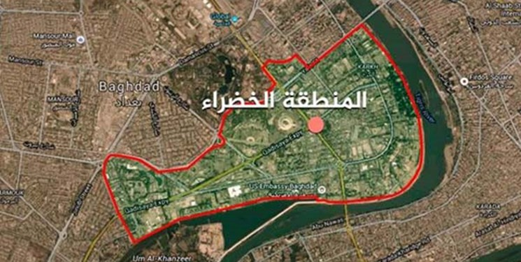 انفجار بمب در مسير کاروان آمريکايي در بغداد
