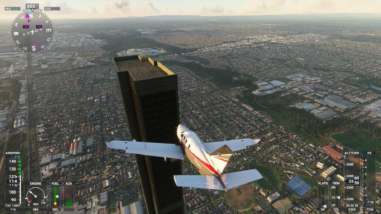 گوناگون/ وجود برج ۲۱۲ طبقه در شبيهساز پرواز به دليل اشتباه تايپي!