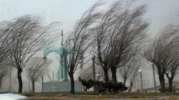 هشدار زرد هواشناسي کردستان؛ تندباد در راه است