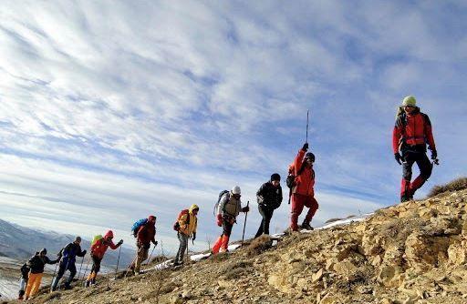 نجات گروه کوهنوردي ۲۱ نفري در کوههاي تسوج