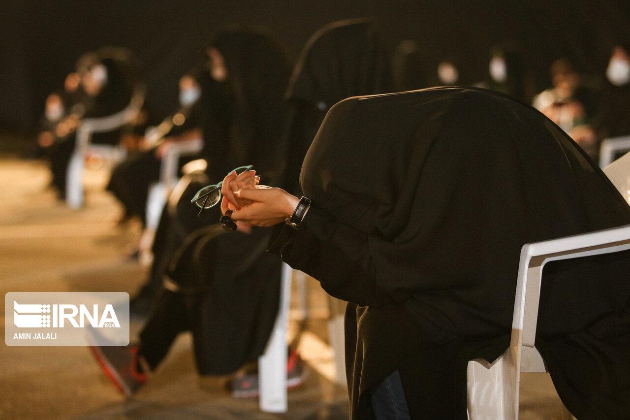 عزاداری در هیئت ریحانهالحسین با رعایت پروتکل های بهداشتی