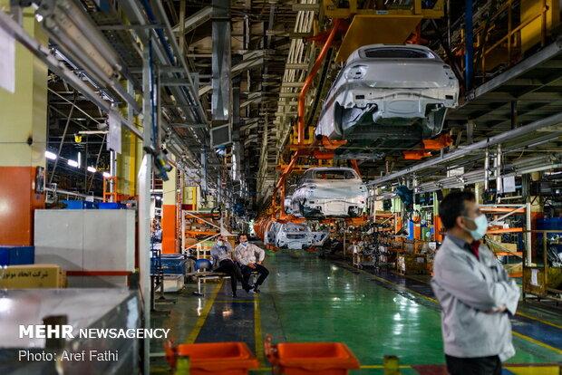 افزایش ۲۱ درصدی تولیدات خودرویی کشور در ۵ ماه اول سال ۹۹