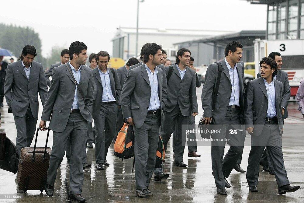 تيپ رسمي بازيکنان تيمملي در جام جهاني 2006
