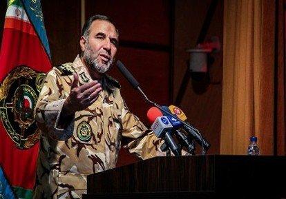 فرمانده نزاجا: در برابر هر تهدیدی علیه نظام ایستادگی می کنیم
