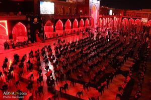 عزاداری شب های محرم در کاظمین