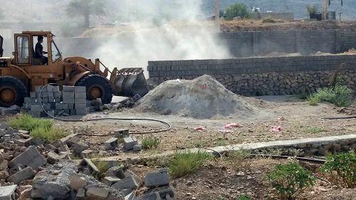 رفع تصرف اراضي ملي در کازرون