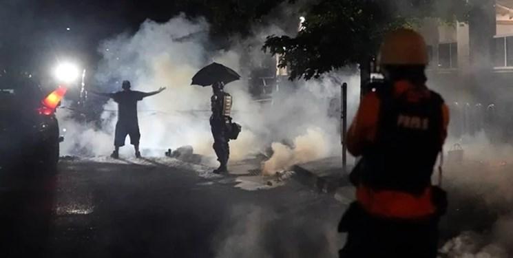 اعتراضات پورتلند به هشتاد و پنجمين شب رسيد