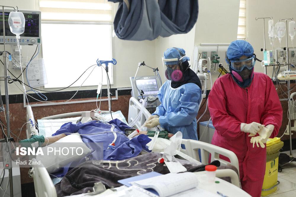 عکس/ حال و روز بيماران کرونايي در «بيمارستان سينا» تهران