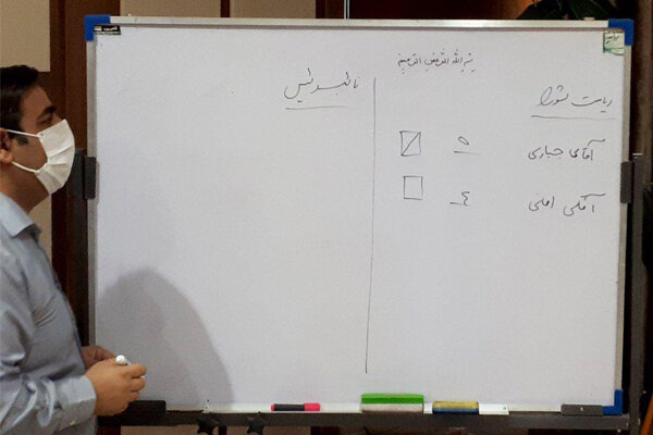 رئيس شوراي اسلامي شهر بجنورد تغيير کرد