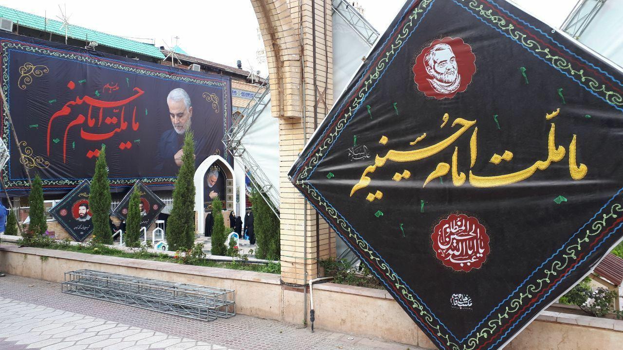 مزار سیدالشهدای مقاومت، میزبان عزاداران اباعبدالله در کرمان