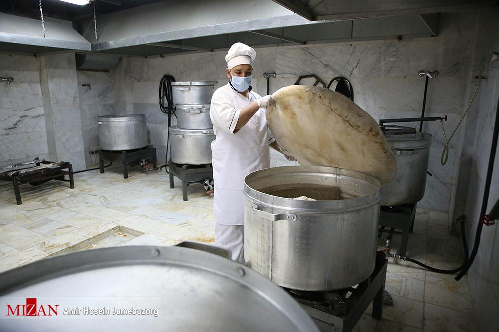 مراسم افتتاح اولين آشپزخانه طرح اطعام حسيني (ع)
