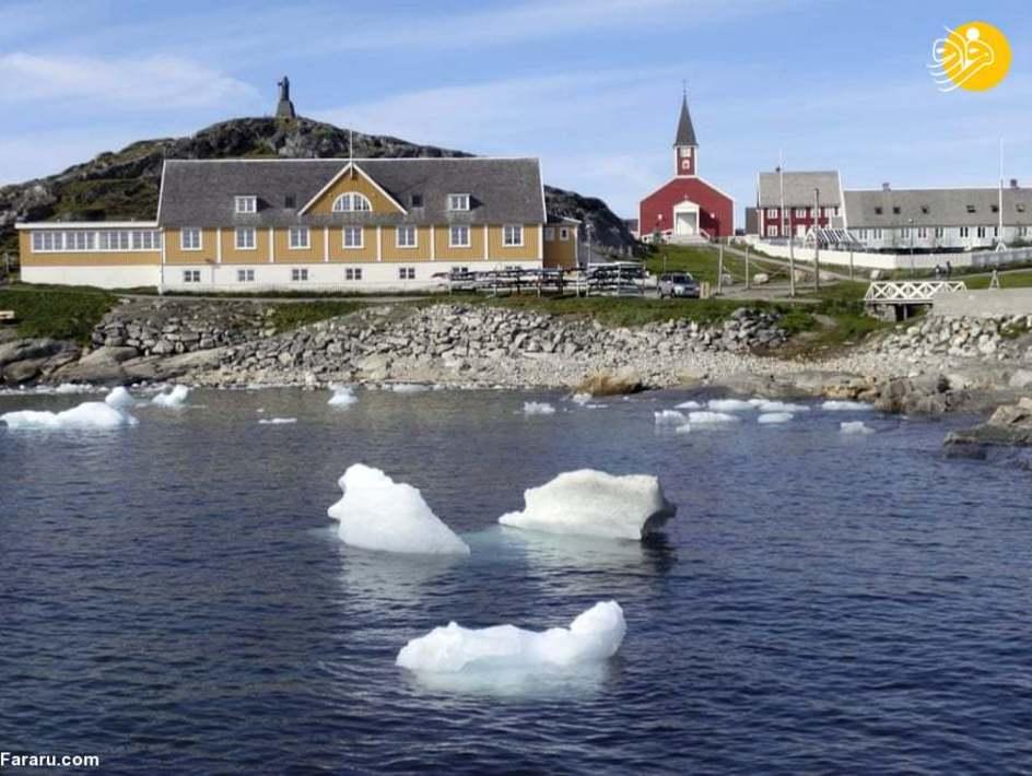 ذوب شدن یخهای گرینلند