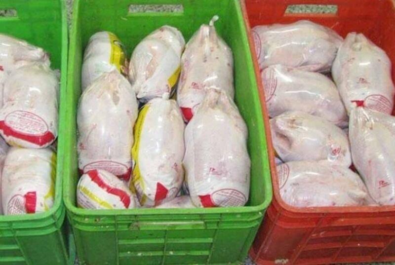توزيع مرغ منجمد به قيمت مصوب در خوزستان از سرگرفته شد