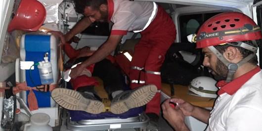 نجات 2 کوهنورد گرفتار در «تمندر»