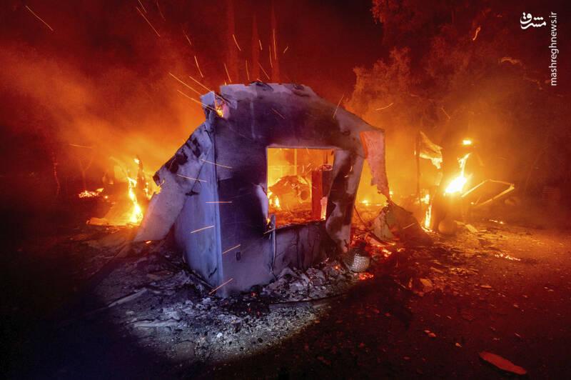 درياي آتش در کاليفرنيا