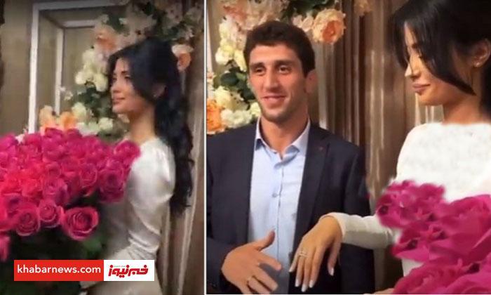 کتک کاري قهرمان المپيک با عروس خيانتکار در روز ازدواج!