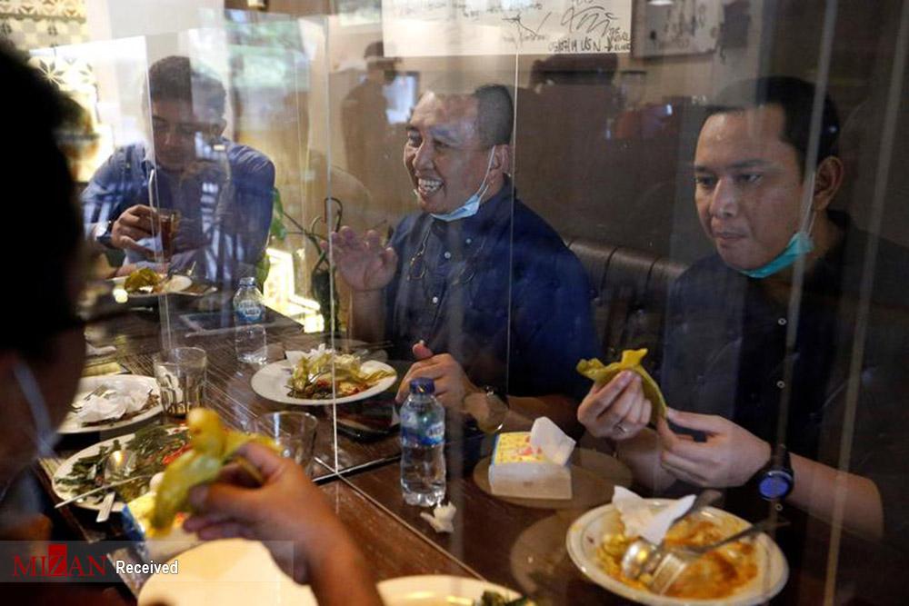 خلاقیت رستوران ها در روزهای کرونایی