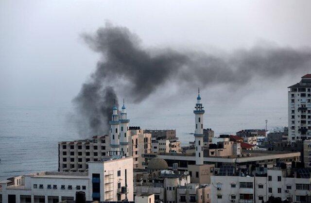حمله توپخانه ای رژیم صهیونیستی به غزه