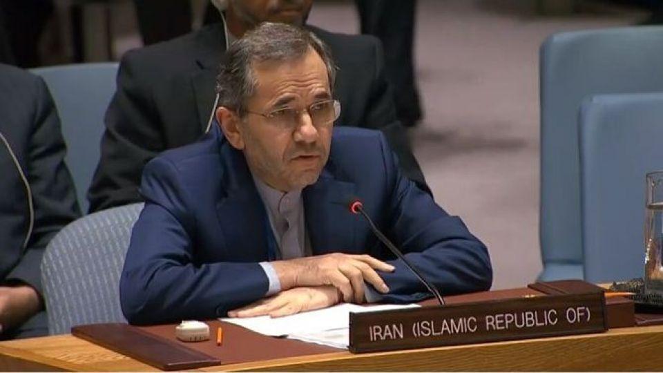 هشدار ايران درباره اعمال تحريمهاي تسليحاتي از سوي شوراي امنيت