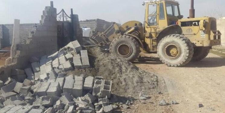 تخريب خانهها در روستاهاي اهواز کذب است