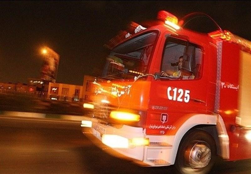وقوع حريق در بيمارستان رسول اکرم (ص) تهران