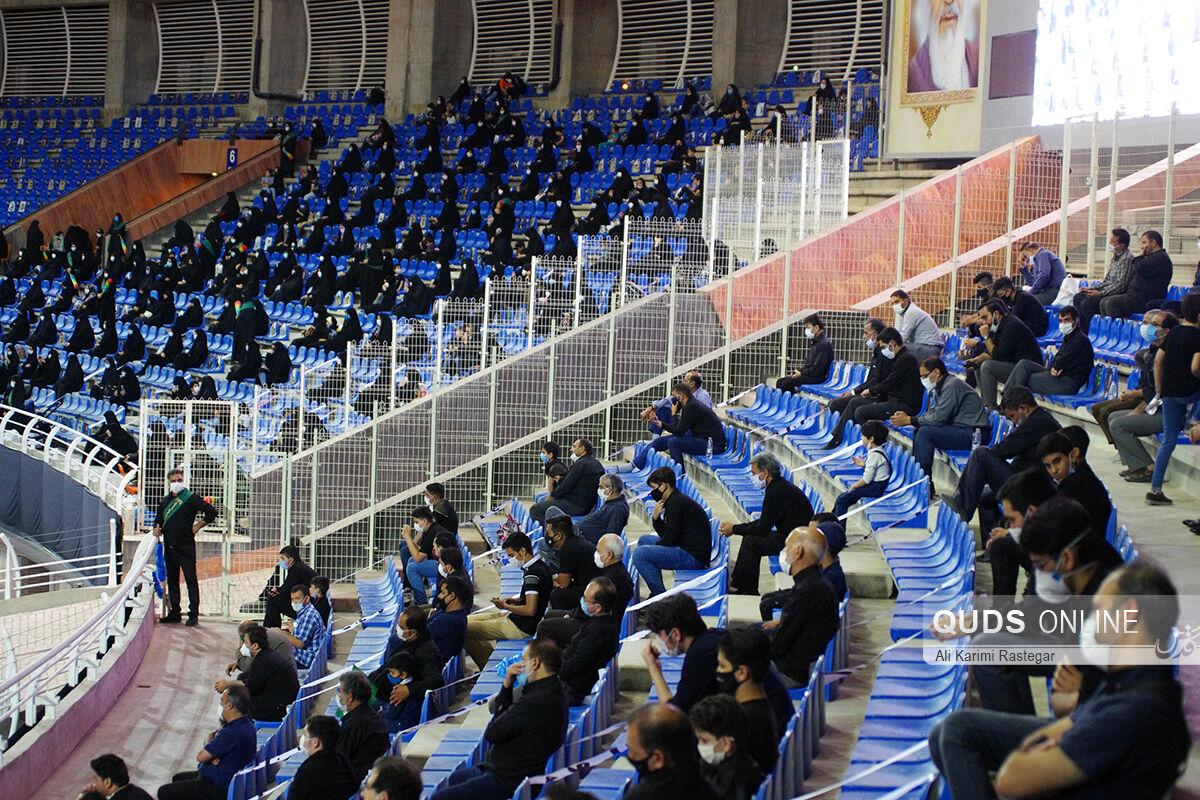 ورزشگاه امام رضا(ع) مشهد میزبان سوگواران حسینی