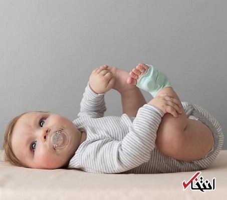 جوراب هوشمندی که سلامت کودکان را رصد میکند
